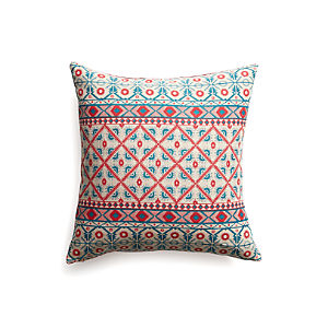 "Advent 20"" Pillow with Feather Insert"