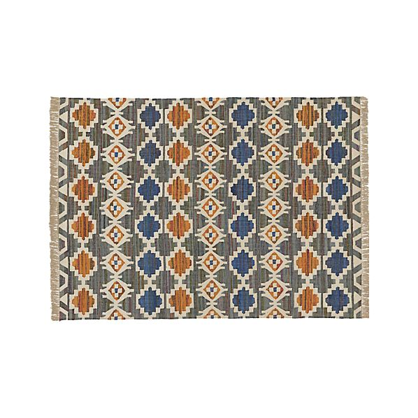 Agra Blue 8'x10' Rug
