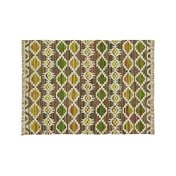 Agra Yellow 8'x10' Rug