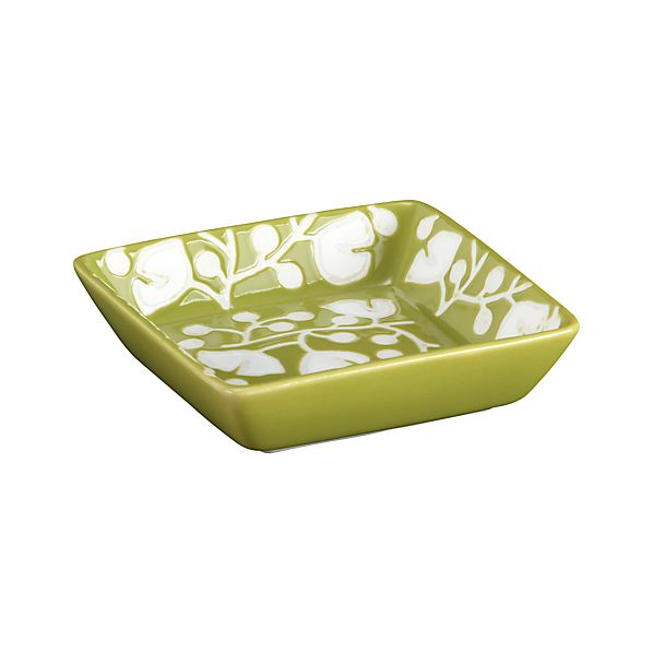 """Akemi Green 3.875"""" Mini Dish"""