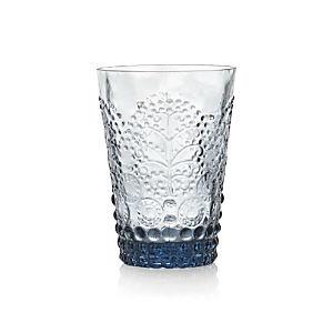 Alegre Azul Beverage Glass
