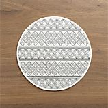 Alexandra White Placemat