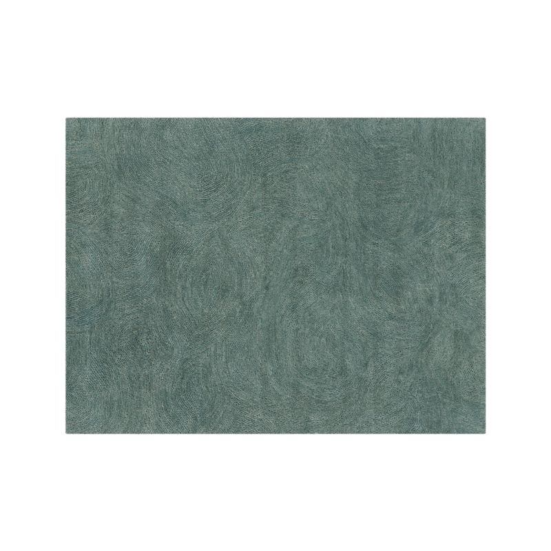 Alfredo Teal 10 X14 Rug Crate And Barrel