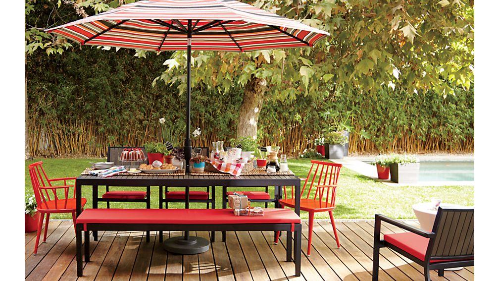 Alfresco Grey Lounge Chair with Sunbrella ® Cushion