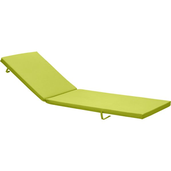 Alfresco Sunbrella® Apple Chaise Cushion