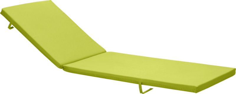 Add extra comfort to Alfresco dining chair seating with fade-, water- and mildew-resistant Sunbrella® acrylic cushions in vibrant apple green.<br /><br /><NEWTAG/><ul><li>Fade- and mildew-resistant Sunbrella acrylic</li><li>Polyurethane foam cushion fill</li><li>Fabric tab fasteners</li><li>Spot clean</li><li>Made in USA</li></ul><br />
