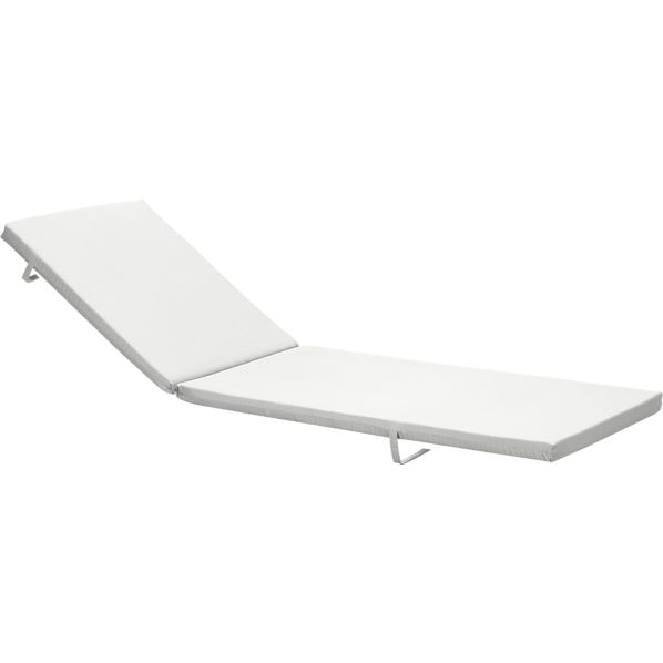 Alfresco Sunbrella® Eggshell Chaise Cushion