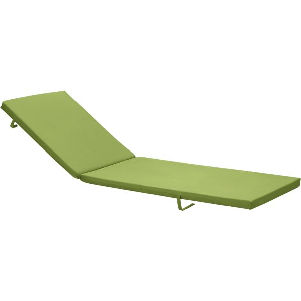 Alfresco Sunbrella® Kiwi Chaise Cushion