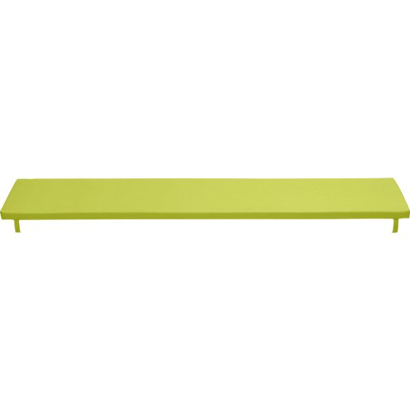 Alfresco Sunbrella® Apple Dining Bench Cushion