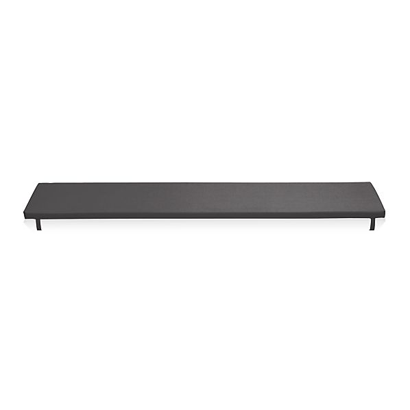 Alfresco Sunbrella® Charcoal Dining Bench Cushion