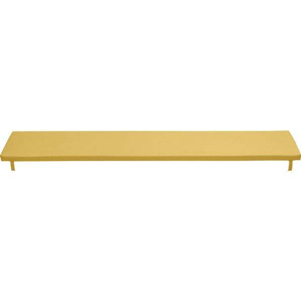 Alfresco Sunbrella® Daffodil Dining Bench Cushion