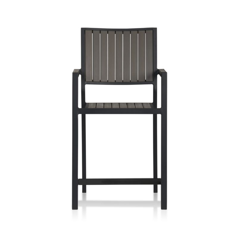 Alfresco Grey Counter Stool In Alfresco Dining Crate And