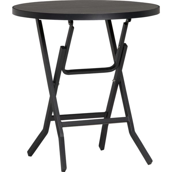 Alfresco Grey Folding Bistro Table