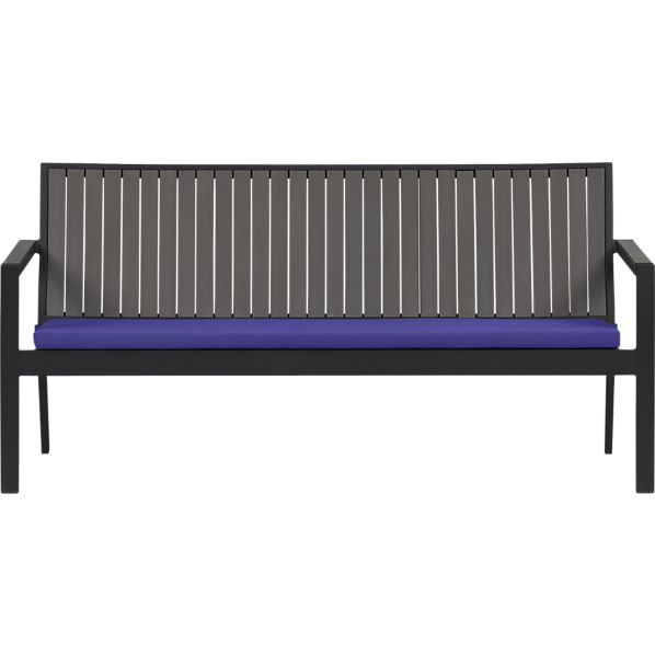 Alfresco Grey Sofa with Sunbrella® Marine Cushion