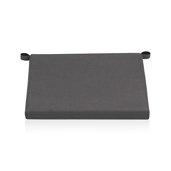 Alfresco Sunbrella® Charcoal Lounge Chair Cushion