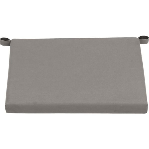 Alfresco Sunbrella® Graphite Lounge Chair Cushion