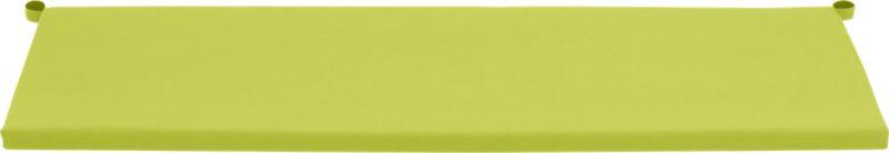 Add extra comfort to Alfresco sofa seating with fade-, water- and mildew-resistant Sunbrella® acrylic cushions in vibrant apple green.<br /><br /><NEWTAG/><ul><li>Fade- and mildew-resistant Sunbrella acrylic</li><li>Polyurethane foam cushion fill</li><li>Fabric tab fasteners</li><li>Spot clean</li><li>Made in USA</li></ul>