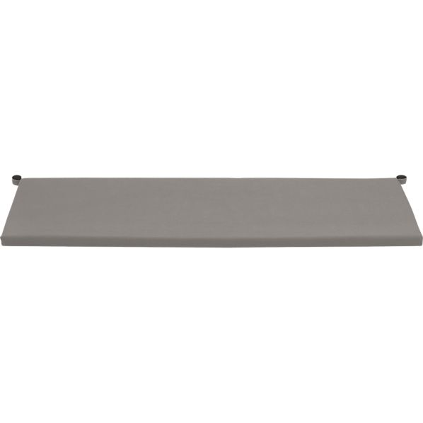 Alfresco Sunbrella® Graphite Sofa Cushion