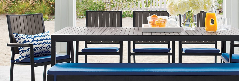 alfresco outdoor furniture collection crate and barrel