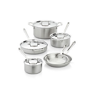 All-Clad® d5 10-Piece Cookware Set