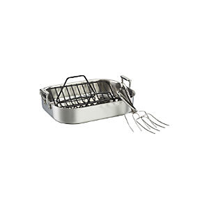 All-Clad® Stainless Roaster Set