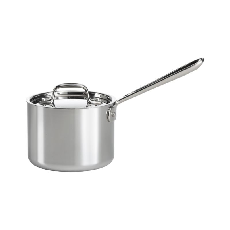 All-Clad-« Stainless 2 qt. Saucepan with Lid