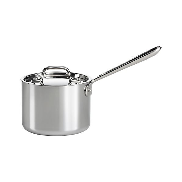 All-Clad® Stainless 2 qt. Saucepan with Lid