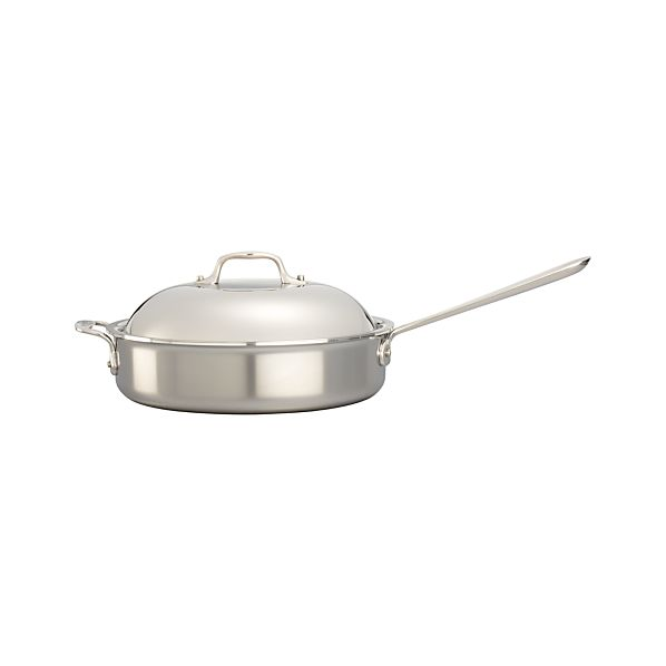 All-Clad ® Stainless Sauté Pan with Domed Lid