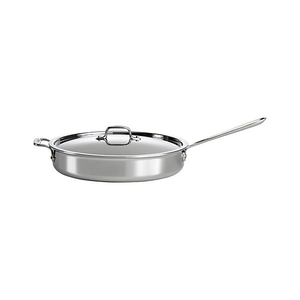 All-Clad ® Stainless Sauté Pan with Lid
