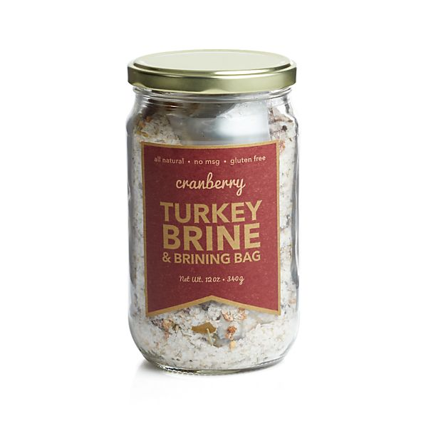 Urban Accents Cranberry Turkey Brine & Brinning Bag