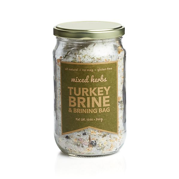 Urban Accents Mixed Herbs Turkey Brine & Brinning Bag