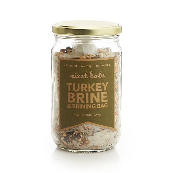 Mixed Herbs Turkey Brine & Brinning Bag
