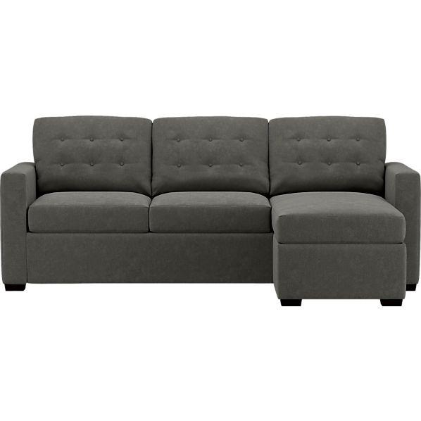 Allerton King Sleeper Lounge Sofa in Sleeper Sofas | Crate and Barrel