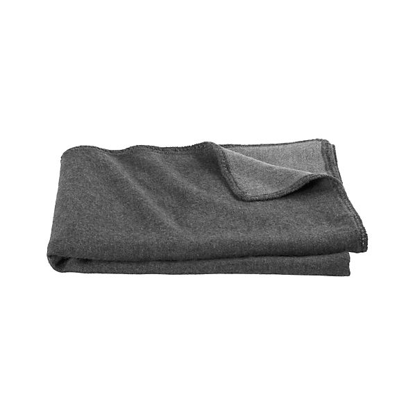 Alpaca Grey Throw