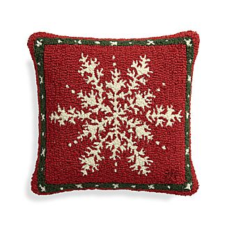 "Alpine 18"" Pillow with Feather-Down Insert"