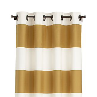 Alston Ivory/Gold 50x84 Curtain Panel