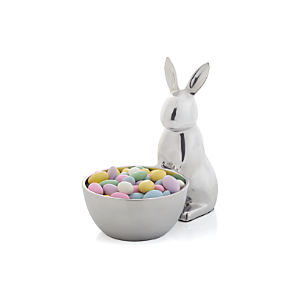 Aluminum Bunny Bowl