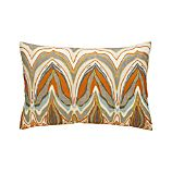 "Amaris 18""x12"" Pillow with Down-Alternative Insert"