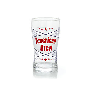 American Brew Beer Glass