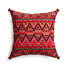"Amira 16"" Pillow with Down-Alternative Insert."
