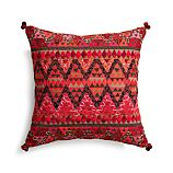 "Amira 16"" Pillow with Feather-Down Insert"