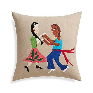 "Amor 16"" Pillow with Down-Alternative Insert"