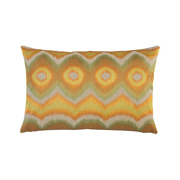 "Anatola Gold 24""x16"" Pillow"