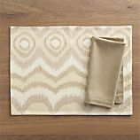 Anatola Placemat and Cotton Neutral Napkin