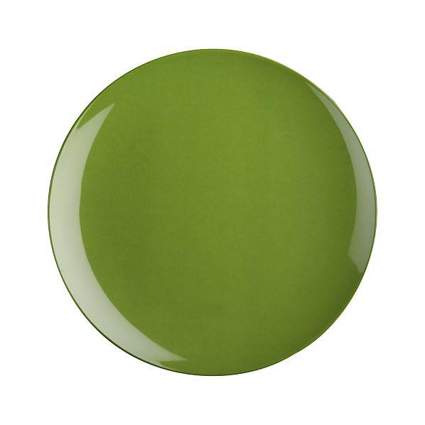 """Andros Green 10.5"""" Melamine Dinner Plate"""