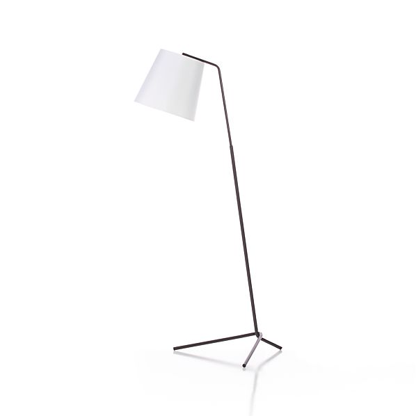 Angle Bronze Floor Lamp