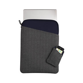 Charcoal Grey Angle Phone and Laptop Sleeves