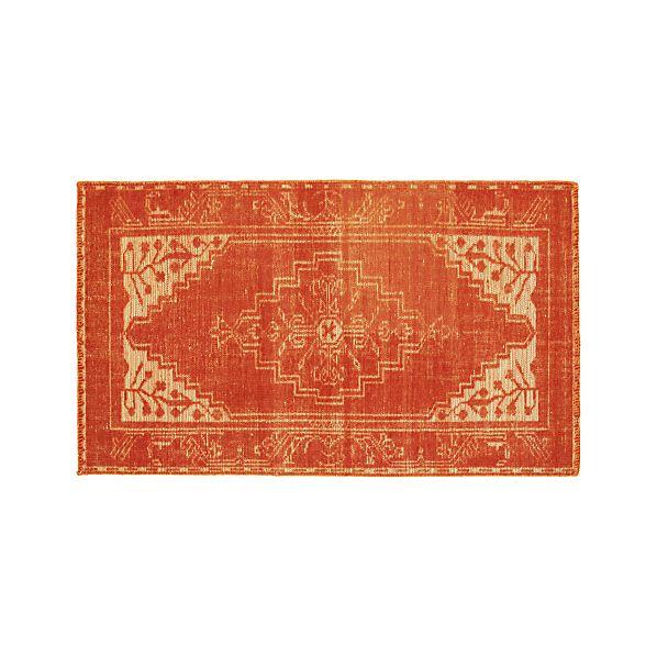 Anice Orange 3'x5' Rug