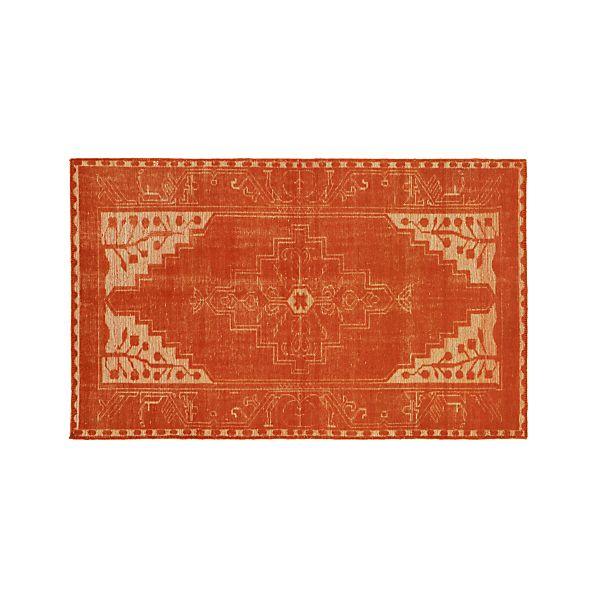Anice Orange 5'x8' Rug