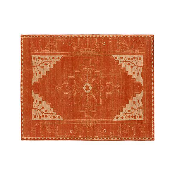 Anice Orange 8'x10' Rug